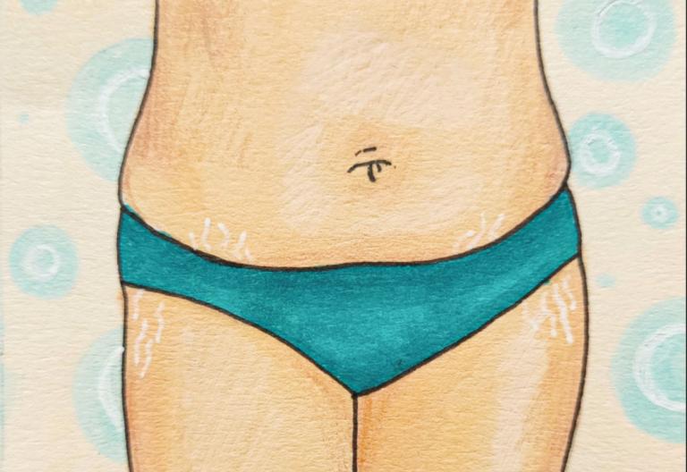 Женское тело выглядит не так